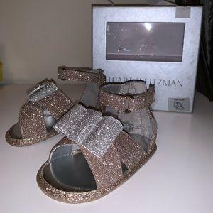 Girls Stuart Weitzman baby Selena sandal